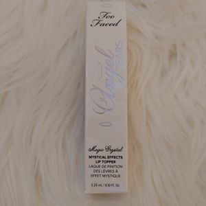 💋NWT Too Faced Angel Tears Lip Topper